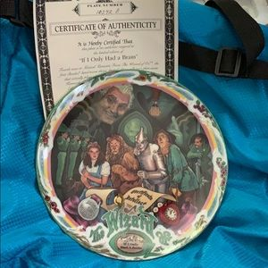 New 1993 Wizard of Oz Musical plate 4 of 5